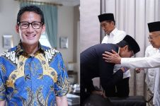 Jokowi-Ma'ruf menang, begini ucapan selamat Sandiaga Uno