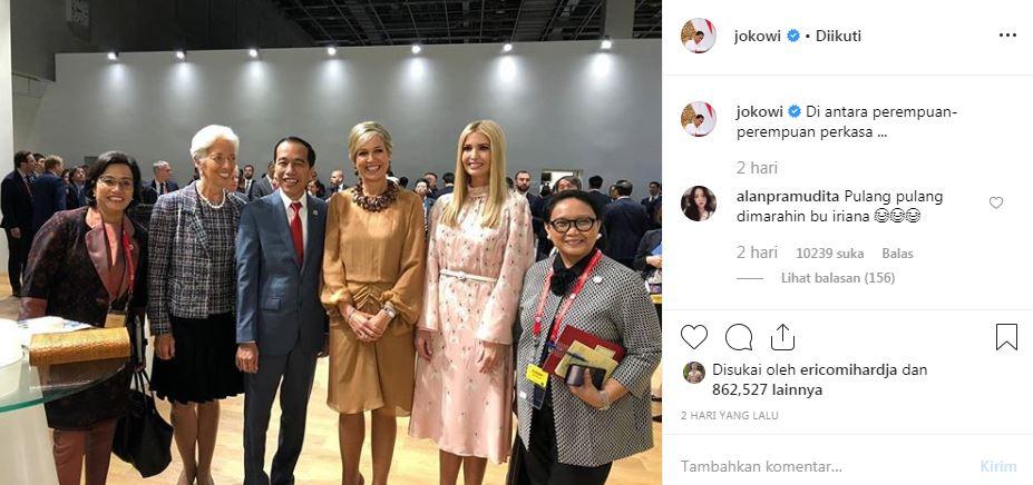 Cuitan lucu Kaesang tanggapi foto Jokowi  © 2019 brilio.net