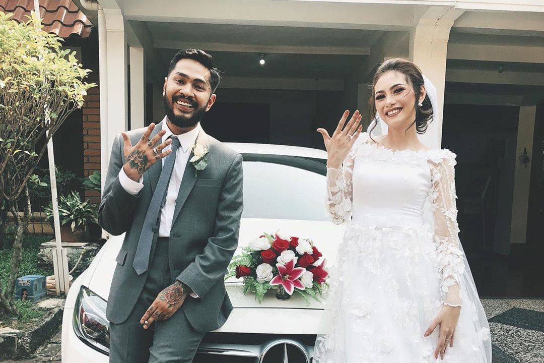 Onadio eks vokalis Killing Me Inside resmi menikah