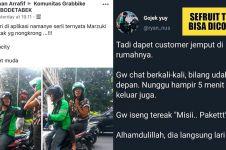 8 Momen kocak driver ojek online saat jemput penumpang