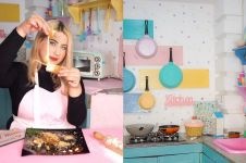 Gemar memasak, ini 8 penampakan dapur Tasyi Athasyia yang estetik