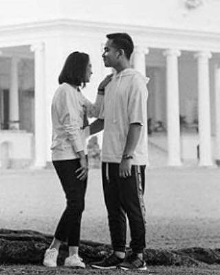 potret romantis Gibran dan Selvi instagram