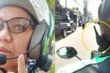Pakai teknologi canggih, helm driver ojek online ini keren abis