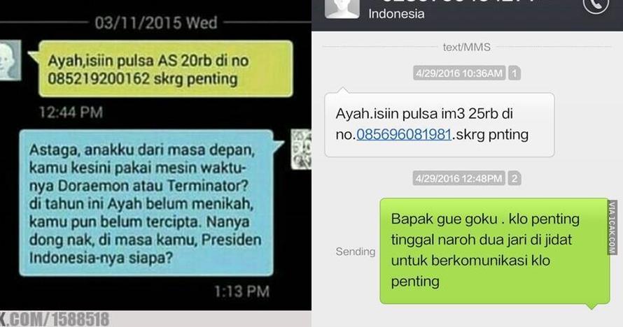 11 Balasan SMS penipuan ini bikin penipu auto nyerah