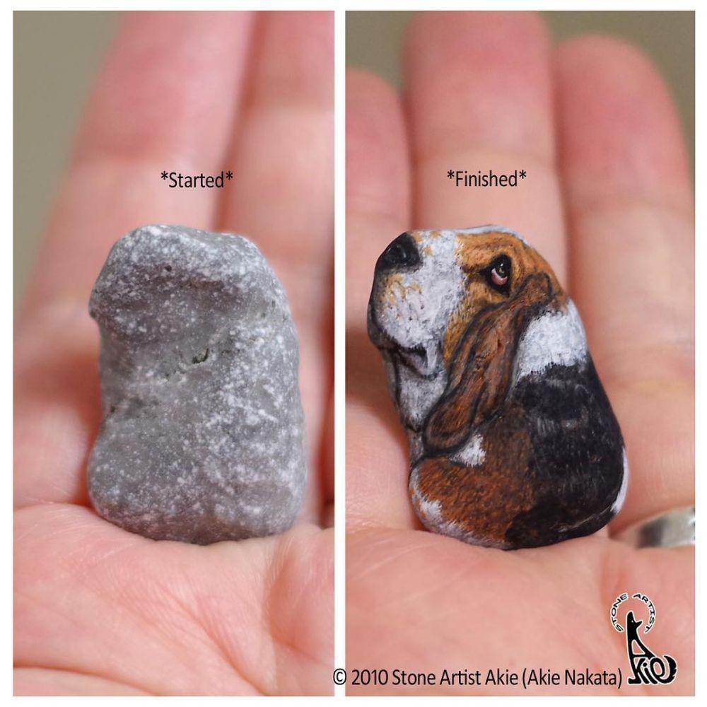 batu dilukis hewan © 2019 brilio.net