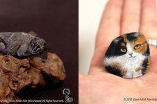 12 Karya lukis batu mirip hewan asli ini hasilnya bikin takjub