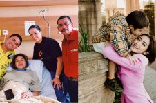 Kisah 7 seleb melahirkan tanpa ditemani suami, penuh perjuangan