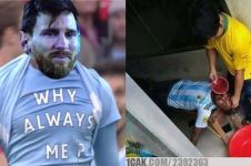 9 Meme lucu kekalahan Argentina di Copa America 2019, sindir Messi