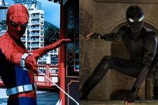7 Potret transformasi kostum Spider-Man dari masa ke masa