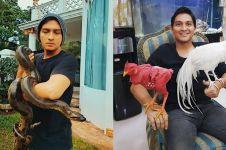 10 Foto penampakan rumah Lucky Hakim, ruang tamunya jadi sorotan