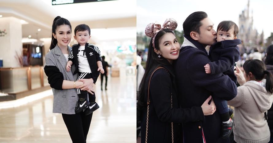 Usia 1,5 tahun, anak Sandra Dewi dihadiahi gitar limited edition