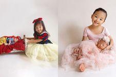 7 Potret newborn Thania Putri Onsu, ada bertema Snow White