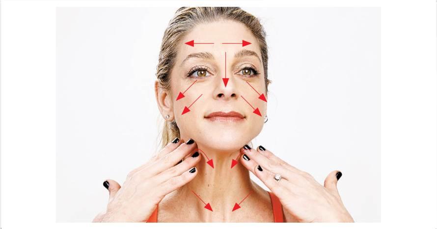 10 Gerakan pijat ini dapat mencegah keriput di wajah