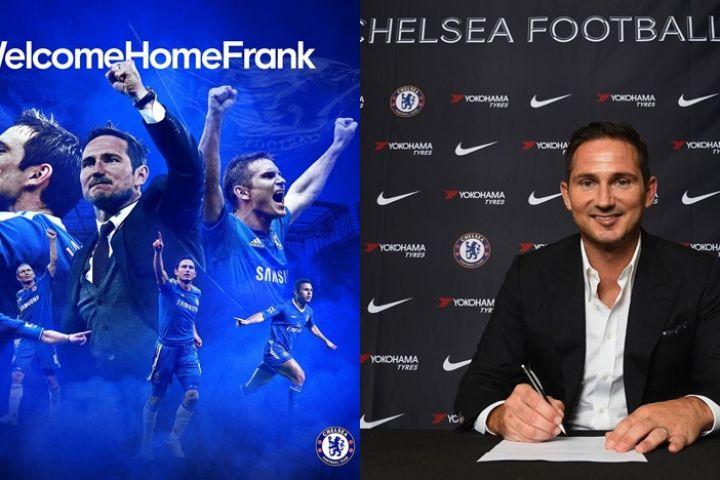 Resmi, Frank Lampard jadi pelatih baru Chelsea selama tiga musim
