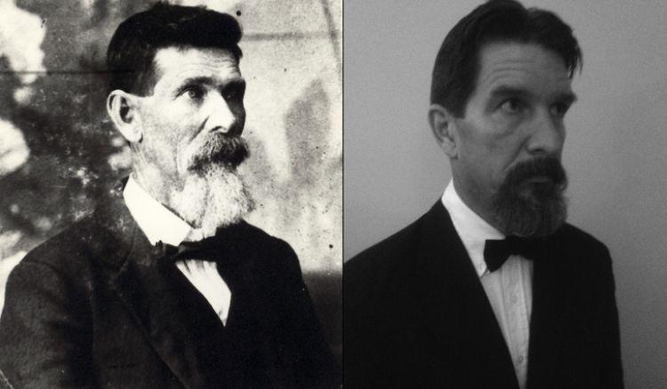 10 Pose foto beda masa orangtua vs anak ini bak fotokopi, mirip!