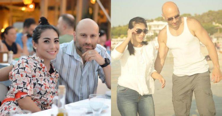 Lama tak muncul, ini 10 potret mesra Siti KDI & suami bulenya