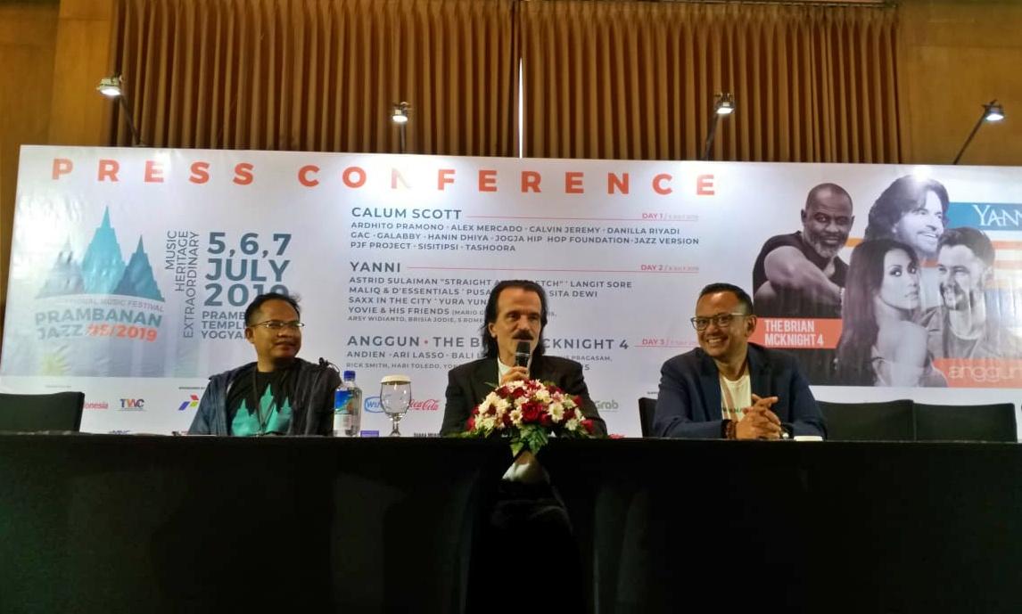 Yanni siap tampil di Prambanan Jazz 2019, Jokowi diundang hadir