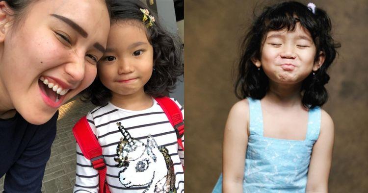 Biasa keriting, ini 8 potret putri Ayu Ting Ting berambut lurus