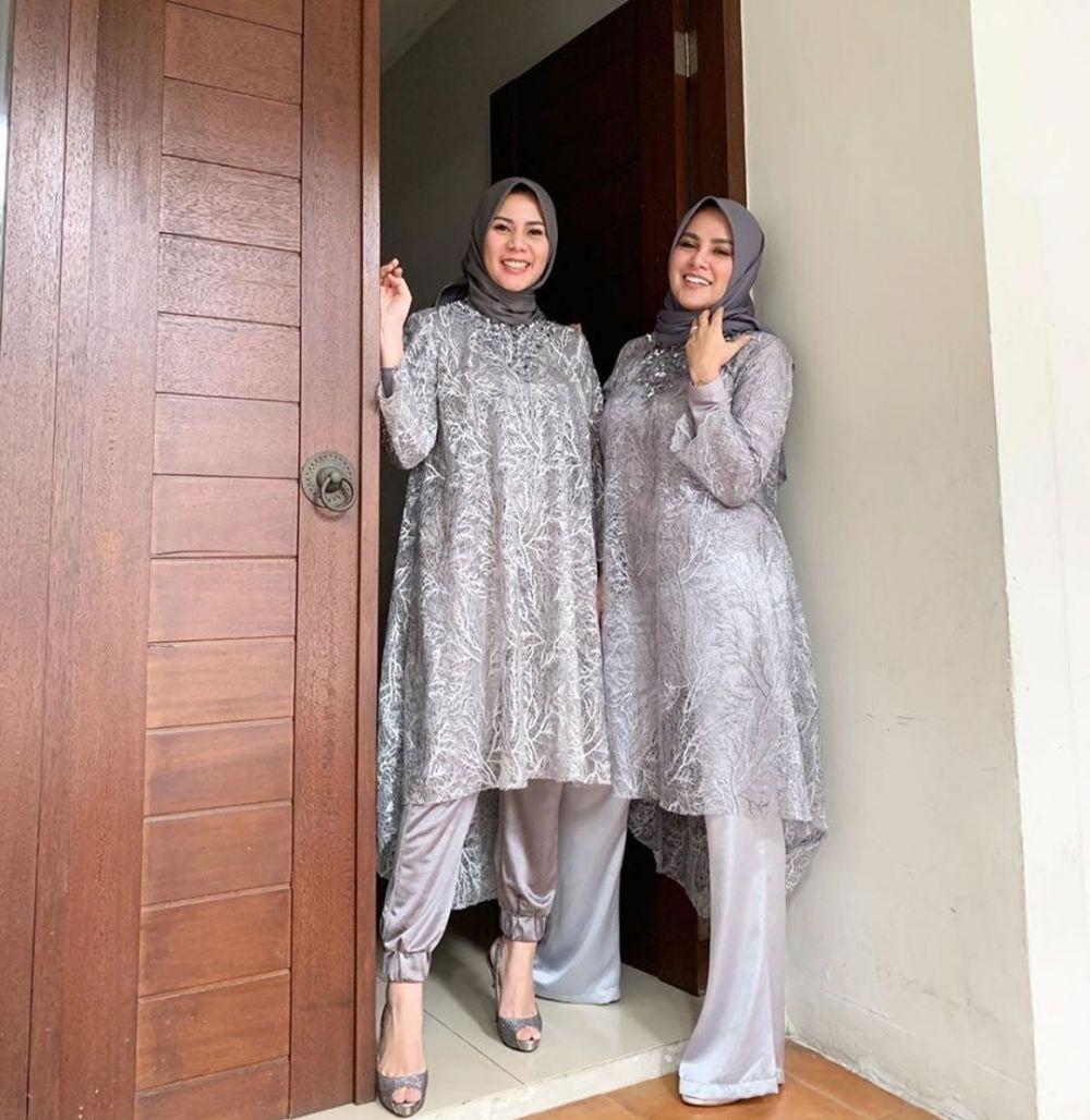 15 Inspirasi Padu Padan Kebaya Dan Celana Cocok Buat Kondangan