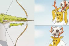 11 Ilustrasi susahnya hewan saat berolahraga, kocak tapi kasihan