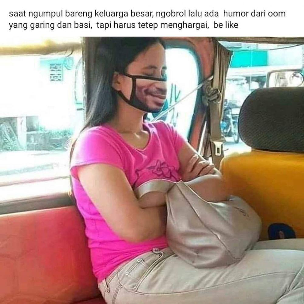 status medsos lucu naik angkutan umum © berbagai sumber