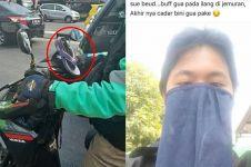 11 Potret akal-akalan driver ojek online pas lagi kepepet, kocak!