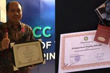 5 Penghargaan ini diterima Sutopo Purwo Nugroho semasa hidupnya