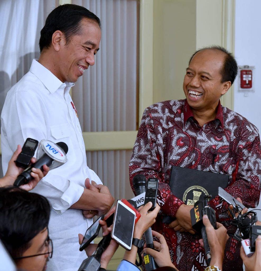 belasungkawa Jokowi Sutopo © 2019 Instagram