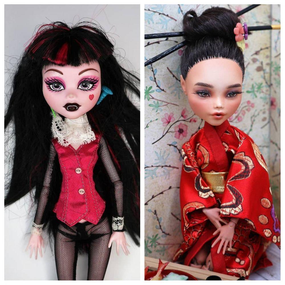 boneka dilukis ulang © 2019 Instagram