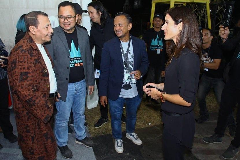Gaya Habib Luthfi Prambanan Jazz 2019 © 2019 brilio.net
