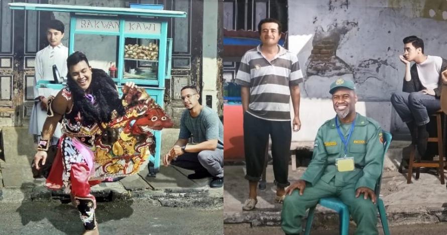 8 Foto editan lucu musisi di Prambanan Jazz 2019, Yanni pakai sarung