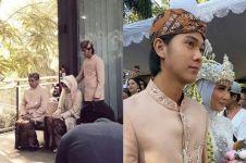10 Momen haru Iqbaal Ramadhan dampingi kakaknya menikah