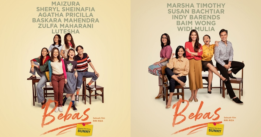 6 Fakta menarik film 'Bebas', adaptasi box office Korea 'Sunny'