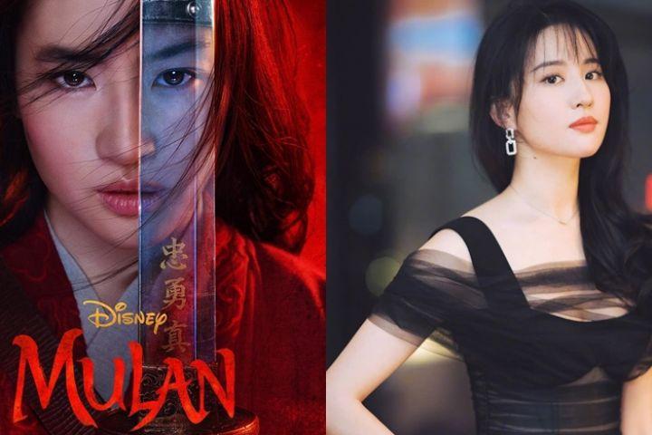 12 Pesona Liu Yifei, pemeran film Mulan yang bikin susah kedip