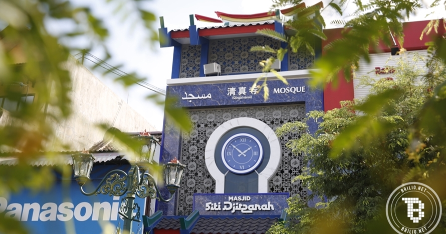 Masjid Siti Djirzanah, masjid berkonsep Tionghoa di tengah Malioboro