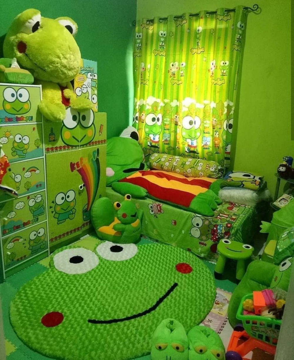 15 Desain ruang kamar tidur tema kartun, ada Frozen hingga ...