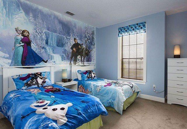 15 Desain Ruang Kamar Tidur Tema Kartun Ada Frozen Hingga Doraem