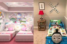 15 Desain ruang kamar tidur tema kartun, ada Frozen hingga Doraemon