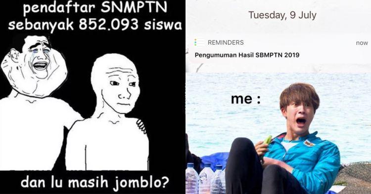 10 Meme lucu SBMPTN 2019 ini kocaknya bikin geregetan