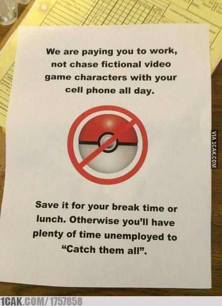 peringatan buat karyawan © 2019 berbagai sumber