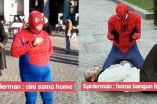 10 Pelesetan judul film Spider-Man ini bikin ngakak