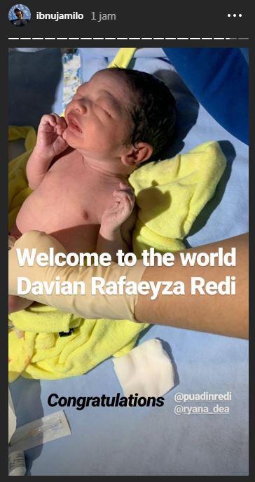 ryana melahiran anak kedua © 2019 brilio.net