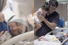 7 Momen kelahiran anak kedua Ryana Dea & Puadin Redi, penuh haru