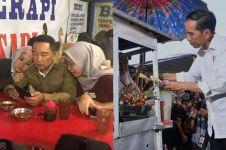 Momen 5 pejabat makan di kaki lima, Ridwan Kamil paling romantis