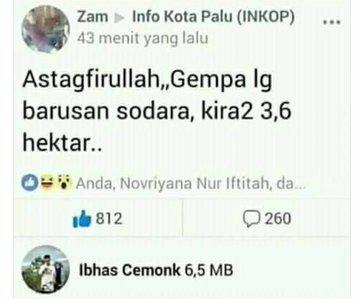 status di grup facebook © 2019 berbagai sumber