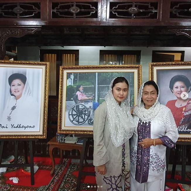 tahlilan ibu ani yudhoyono © 2019 brilio.net