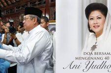 9 Momen doa bersama mengenang 40 hari Ani Yudhoyono wafat