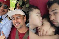 Kejar waktu demi Rafathar, Raffi Ahmad kerja naik helikopter