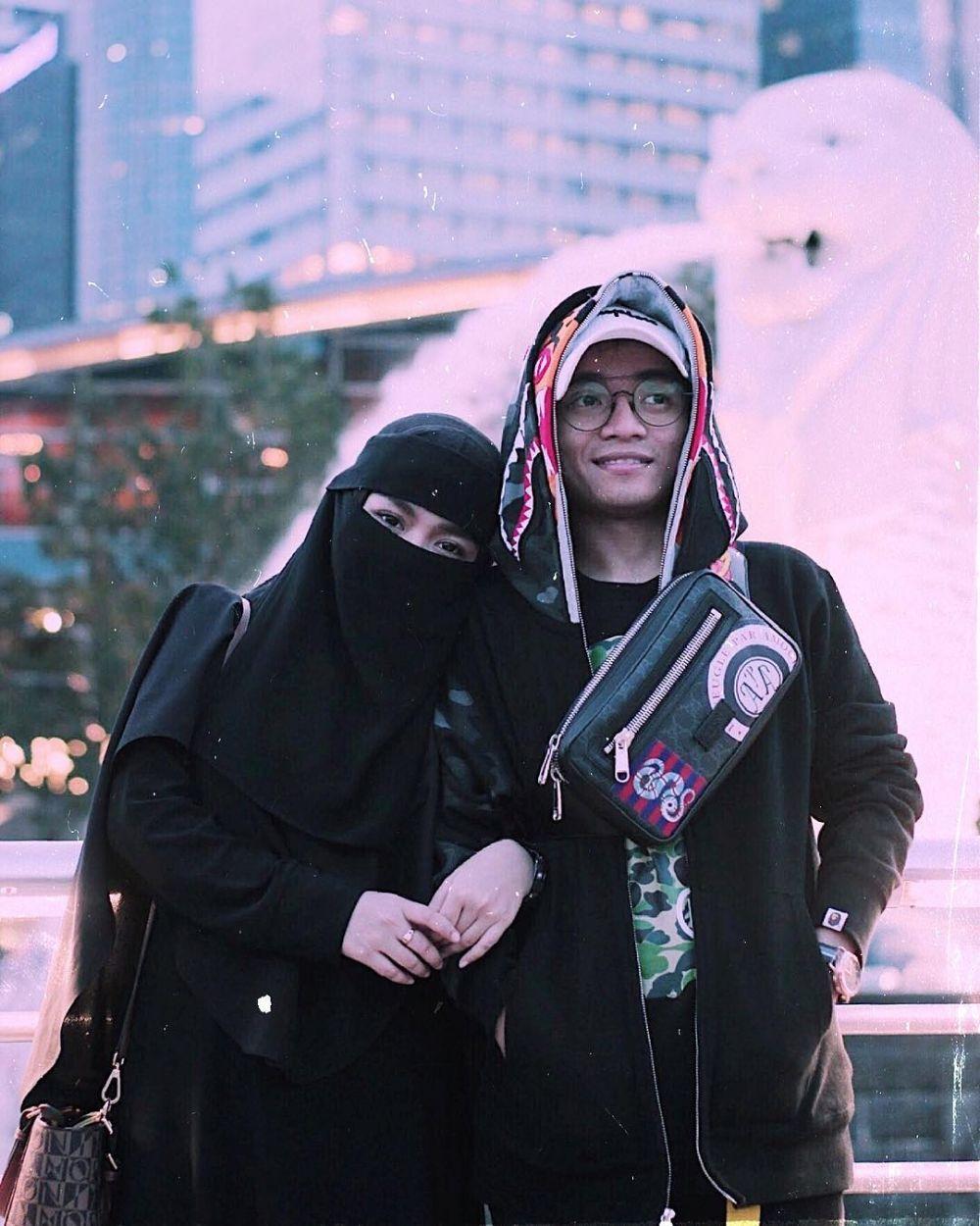 taqy malik dan adiknya © 2019 brilio.net