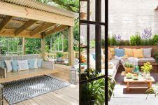 15 Desain ruang tamu outdoor ini bikin suasana makin nyaman